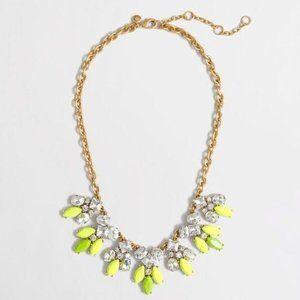 Vivid J.Crew Neon Crystal Necklace